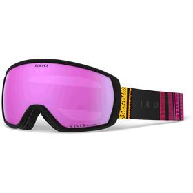 Giro Facet Skibriller, pink yellow lines/vivid pink